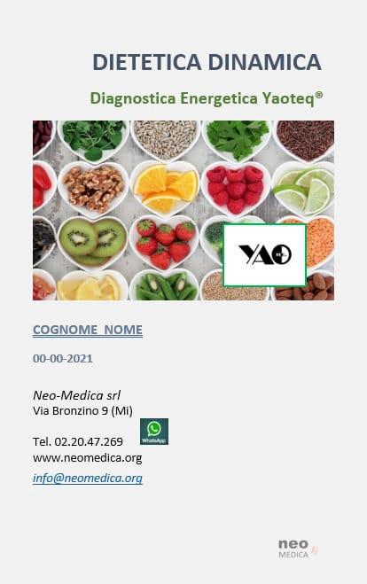 Yaoteq - Report Dietetica Dinamica